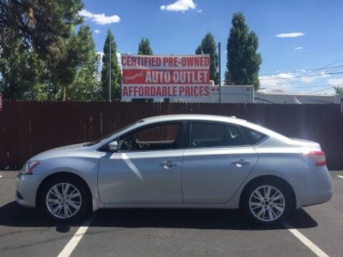 2013 Nissan Sentra for sale at Flagstaff Auto Outlet in Flagstaff AZ