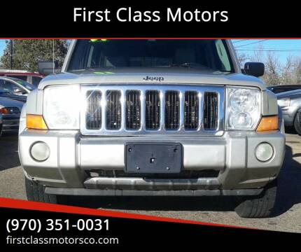2007 Jeep Commander for sale at First Class Motors in Greeley CO