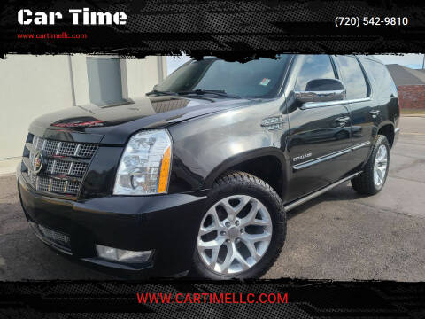 2012 Cadillac Escalade for sale at Car Time in Denver CO