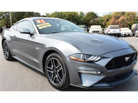 2021 Ford Mustang for sale at ATWATER AUTO WORLD in Atwater CA