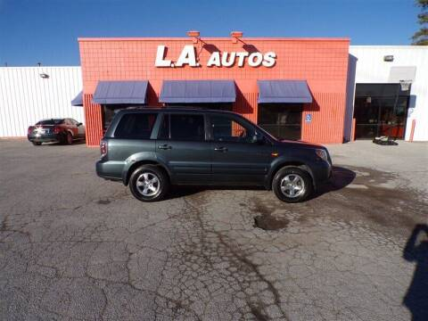 2006 Honda Pilot for sale at L A AUTOS in Omaha NE