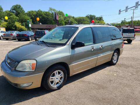 2004 Ford Freestar for sale at Johnny's Motor Cars in Toledo OH