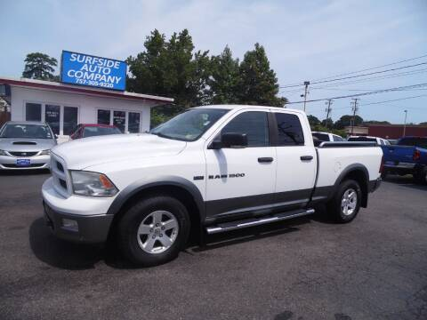 2011 RAM Ram Pickup 1500 for sale at Surfside Auto Company in Norfolk VA