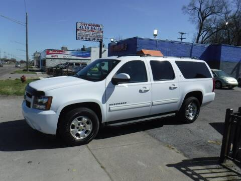 2012 Chevrolet Suburban for sale at City Motors Auto Sale LLC in Redford MI