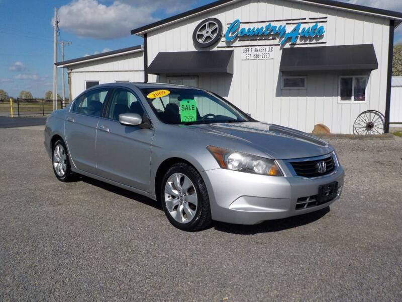2009 Honda Accord for sale at Country Auto in Huntsville OH
