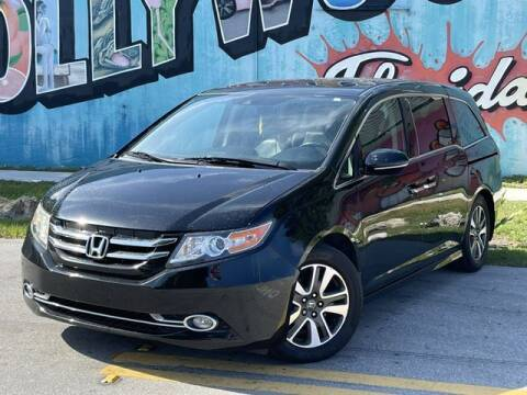 2015 Honda Odyssey for sale at Palermo Motors in Hollywood FL