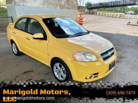 2009 Chevrolet Aveo for sale at Marigold Motors, LLC in Pekin IL