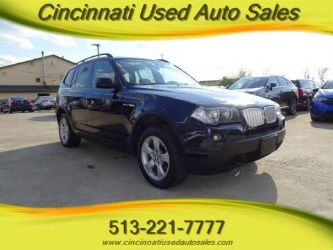 2007 BMW X3 for sale at Cincinnati Used Auto Sales in Cincinnati OH