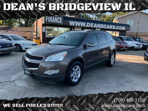 2009 Chevrolet Traverse for sale at DEANSCARS.COM in Bridgeview IL