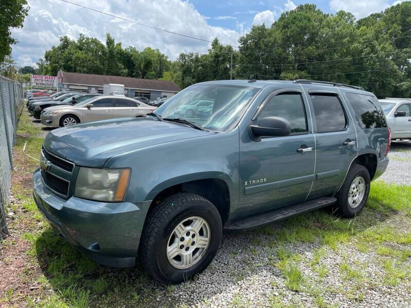 2008 Chevrolet Tahoe for sale at Auto Mart in North Charleston SC