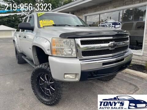 2011 Chevrolet Silverado 1500 for sale at Tonys Auto Sales Inc in Wheatfield IN