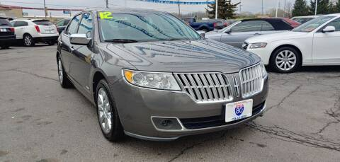 2012 Lincoln MKZ Hybrid for sale at I-80 Auto Sales in Hazel Crest IL