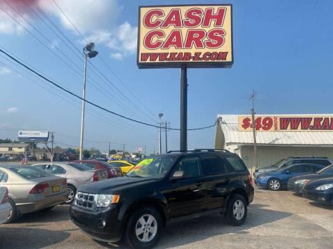 2009 Ford Escape for sale at www.CashKarz.com in Dallas TX
