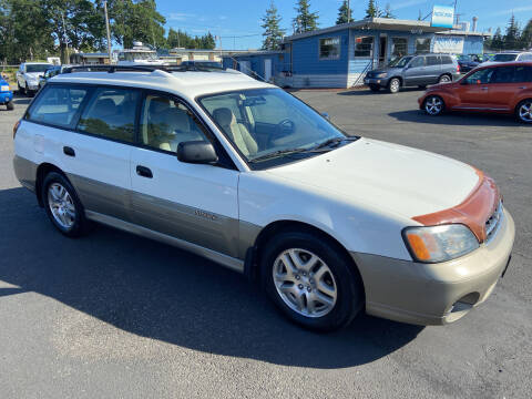 2001 Subaru Outback for sale at Pacific Point Auto Sales in Lakewood WA