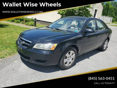 2007 Hyundai Sonata for sale at Wallet Wise Wheels in Montgomery NY
