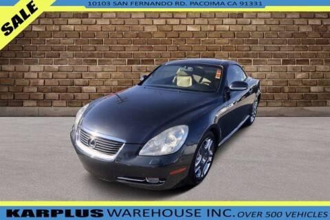 2006 Lexus SC 430 for sale at Karplus Warehouse in Pacoima CA