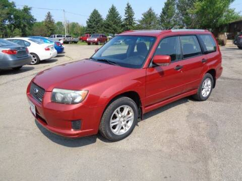 2008 Subaru Forester for sale at COUNTRYSIDE AUTO INC in Austin MN