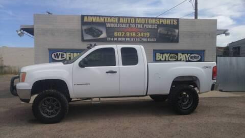2008 GMC Sierra 1500 for sale at Advantage Motorsports Plus in Phoenix AZ