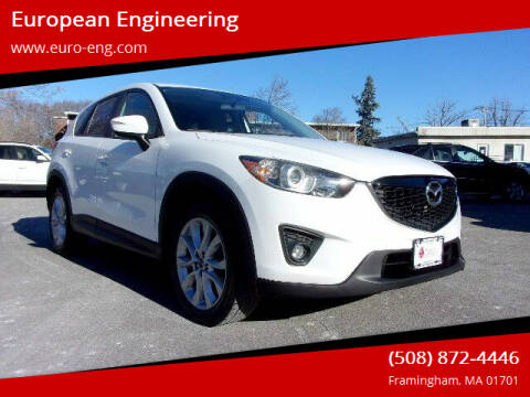 2015 Mazda CX-5 for sale at European Engineering in Framingham MA