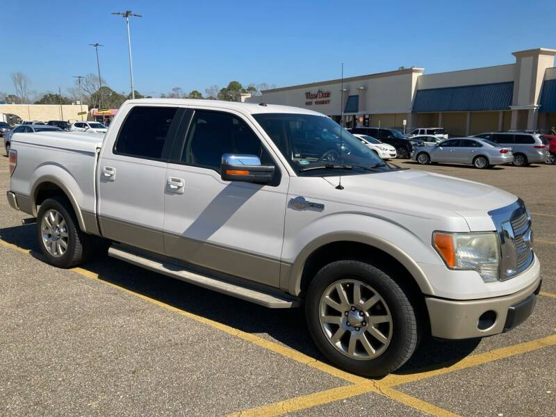 2010 Ford F-150 for sale at Autofinders in Gulfport MS