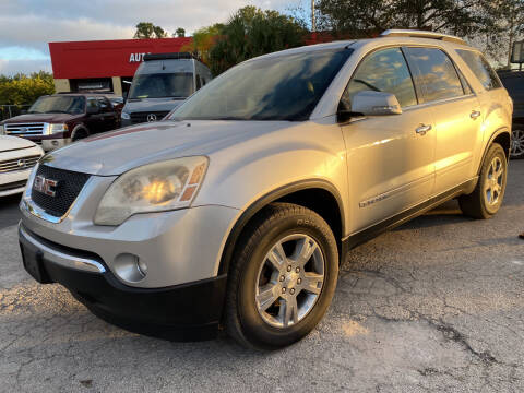 2007 GMC Acadia for sale at Coastal Auto Ranch, Inc. in Port Saint Lucie FL