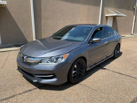 2017 Honda Accord for sale at The Auto Toy Store in Robinsonville MS