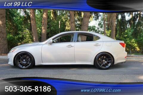 2006 Lexus IS 350 for sale at LOT 99 LLC in Milwaukie OR