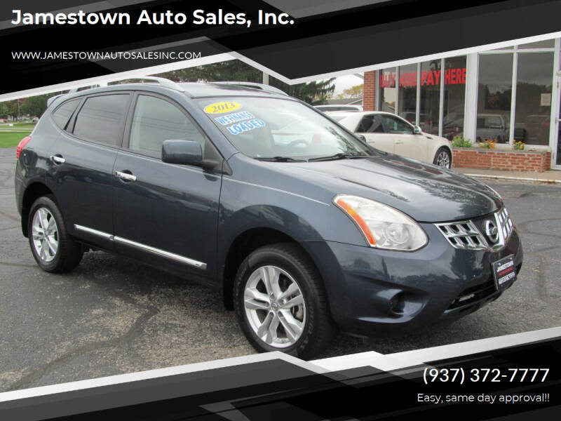2013 Nissan Rogue for sale at Jamestown Auto Sales, Inc. in Xenia OH
