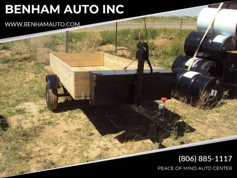 2018 4foot by 8foot for sale at BENHAM AUTO INC - Benham Auto Trailers in Lubbock TX