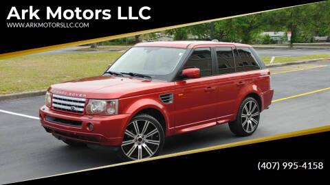 2006 Land Rover Range Rover Sport for sale at Ark Motors LLC in Winter Springs FL