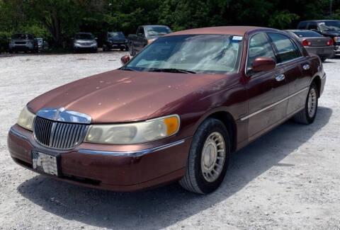 2001 Lincoln Town Car for sale at Cobalt Cars in Atlanta GA
