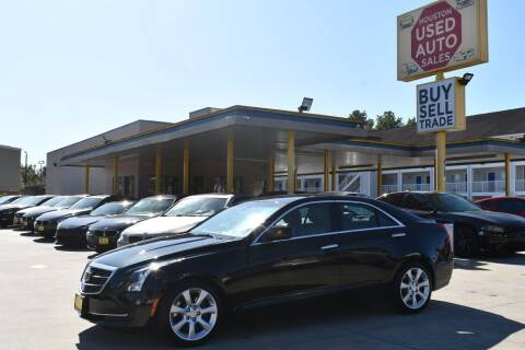 2016 Cadillac ATS for sale at Houston Used Auto Sales in Houston TX