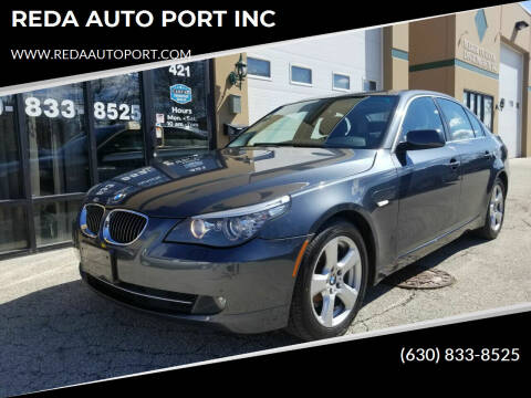 2008 BMW 5 Series for sale at REDA AUTO PORT INC in Villa Park IL