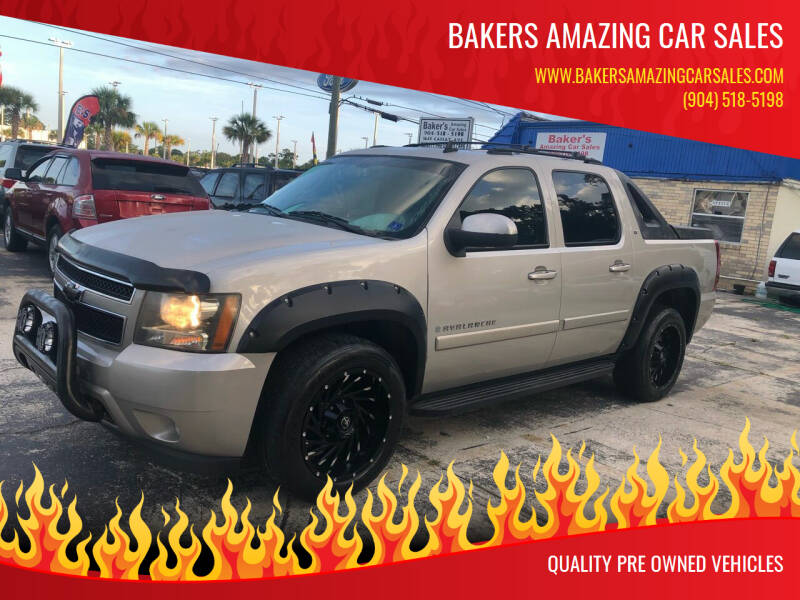 2008 Chevrolet Avalanche for sale at Bakers Amazing Car Sales in Jacksonville FL
