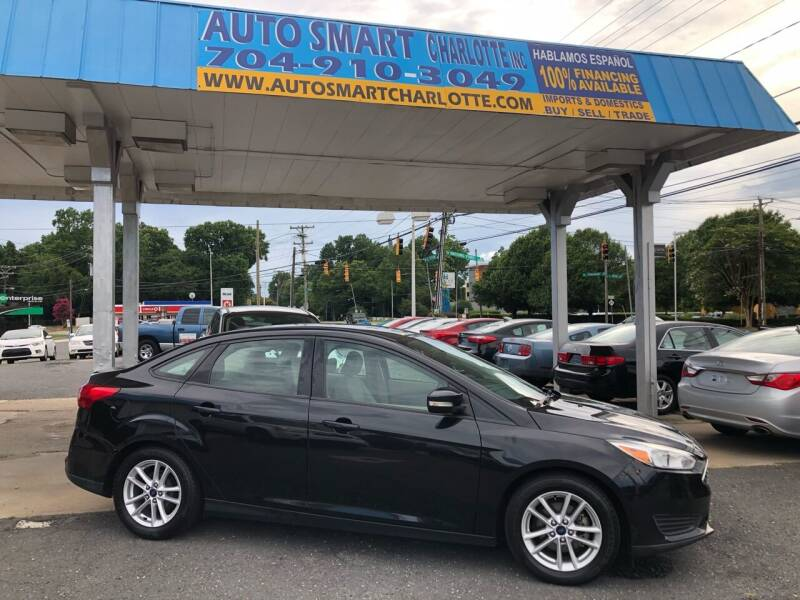 2015 Ford Focus for sale at Auto Smart Charlotte in Charlotte NC