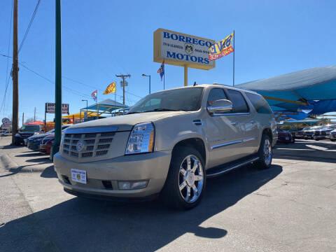2008 Cadillac Escalade ESV for sale at Borrego Motors in El Paso TX