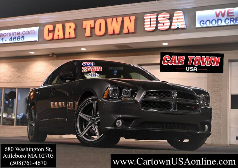 2013 Dodge Charger for sale at Car Town USA in Attleboro MA