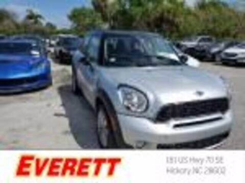 2014 MINI Countryman for sale at Everett Chevrolet Buick GMC in Hickory NC