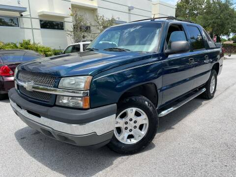 2005 Chevrolet Avalanche for sale at Car Net Auto Sales in Plantation FL