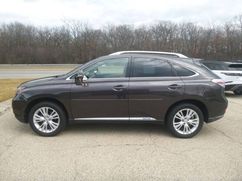 2010 Lexus RX 450h for sale at NEW RIDE INC in Evanston IL