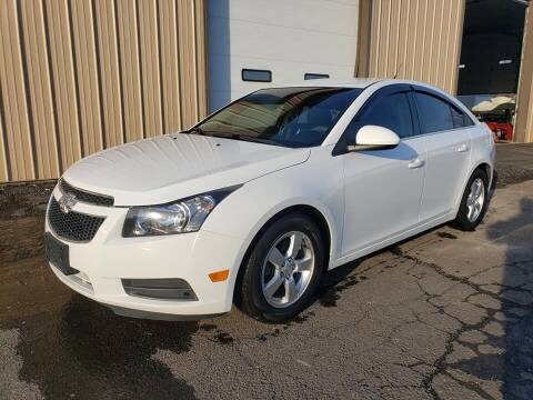 2014 Chevrolet Cruze for sale at Massirio Enterprises in Middletown CT