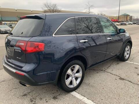 2012 Acura MDX for sale at Via Roma Auto Sales in Columbus OH