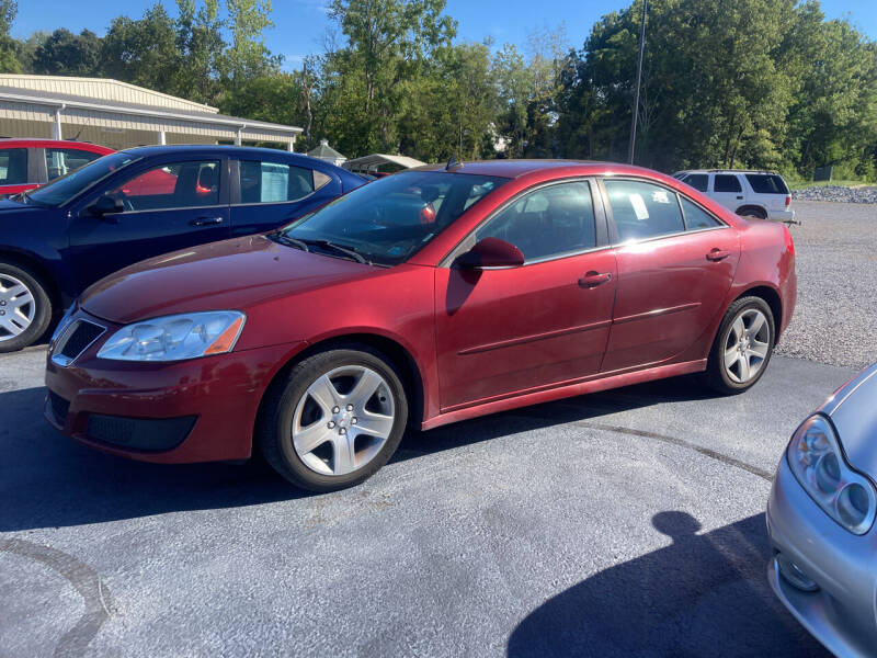 2010 Pontiac G6 for sale at McCully's Automotive - Under $10,000 in Benton KY