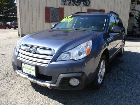2014 Subaru Outback for sale at Roland's Motor Sales in Alfred ME