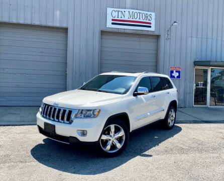 2011 Jeep Grand Cherokee for sale at CTN MOTORS in Houston TX