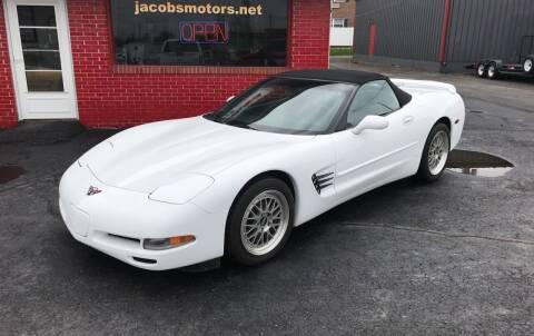1999 Chevrolet Corvette for sale at Jacobs Motors in Huntsville OH