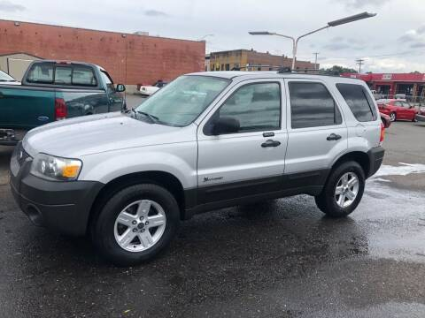 2006 Ford Escape Hybrid for sale at LINDER'S AUTO SALES in Gastonia NC