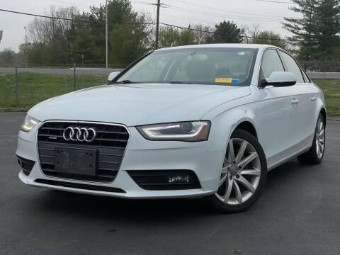 2013 Audi A4 for sale at MAGIC AUTO SALES in Little Ferry NJ