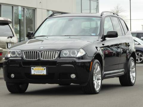 2007 BMW X3 for sale at Loudoun Motor Cars in Chantilly VA