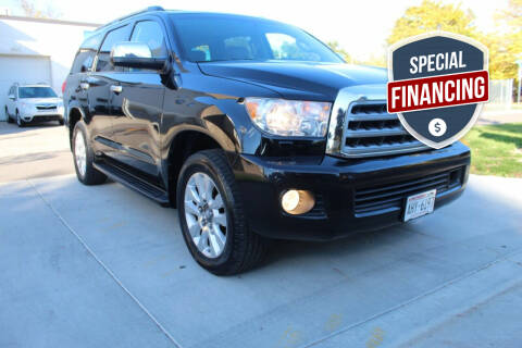 2011 Toyota Sequoia for sale at K & L Auto Sales in Saint Paul MN